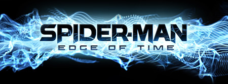 Logo of Spider-Man: Edge of Time (3DS)