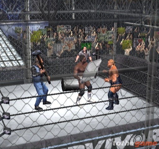 Screenshot of WWE WrestleMania X8 (GAMECUBE)