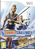 UK Boxshot of Summer Challenge (NINTENDO Wii)