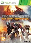 UK Boxshot of Transformers: Fall of Cybertron (XBOX360)