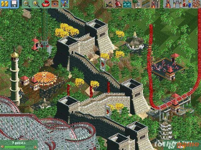 screen5 large Rollercoaster Tycoon 2 [PC]