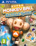 UK Boxshot of Super Monkey Ball: Banana Splitz (PSV)