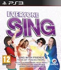 UK Boxshot of Everyone Sing (PS3)