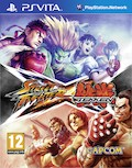 UK Boxshot of Street Fighter X Tekken (PSV)
