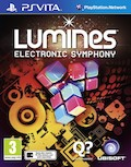 UK Boxshot of Lumines: Electronic Symphony (PSV)