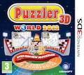 UK Boxshot of Puzzler World 2012 3D (3DS)