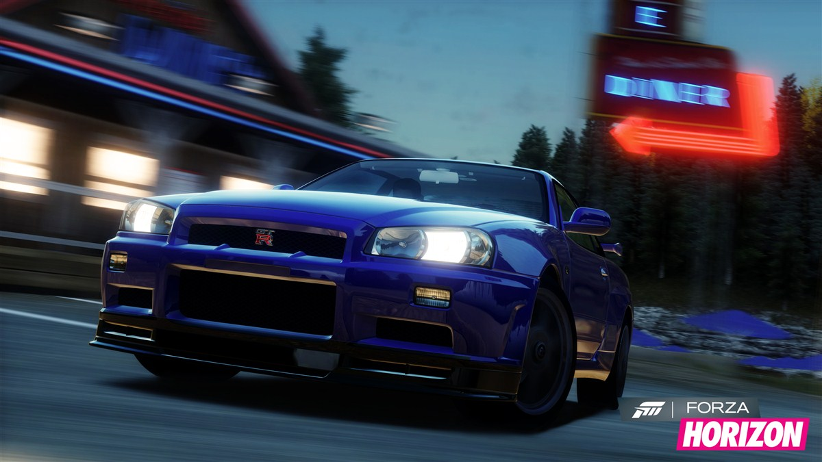 Screenshot of Forza Horizon (XBOX360)
