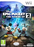 UK Boxshot of Epic Mickey 2: The Power of Two (NINTENDO Wii)