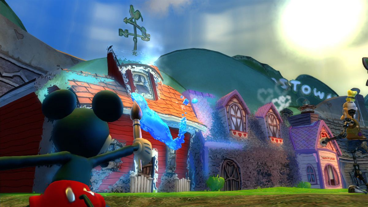 Screenshot of Epic Mickey 2: The Power of Two (PS3)