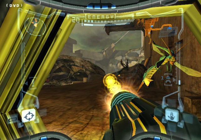 Screenshot of Metroid Prime (GAMECUBE)