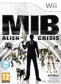 UK Boxshot of Men in Black: Alien Crisis (NINTENDO Wii)