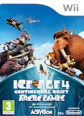 UK Boxshot of Ice Age 4: Continental Drift - Arctic Games (NINTENDO Wii)