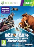 UK Boxshot of Ice Age 4: Continental Drift - Arctic Games (XBOX360)