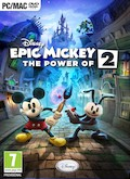 UK Boxshot of Epic Mickey 2: The Power of Two (PC)