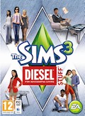 UK Boxshot of The Sims 3: Diesel Stuff Pack (PC)