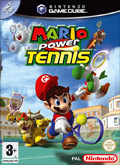UK Boxshot of Mario Power Tennis (GAMECUBE)