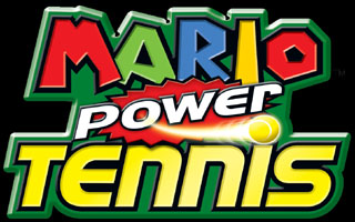 Logo of Mario Power Tennis (GAMECUBE)