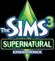 Logo of The Sims 3: Supernatural (PC)