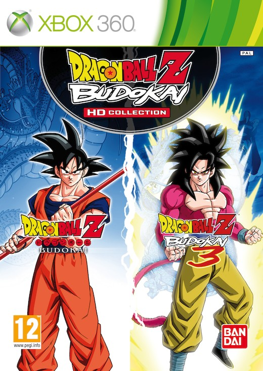boxshot uk large  Dragon Ball Z: Budokai HD Collection [X360]