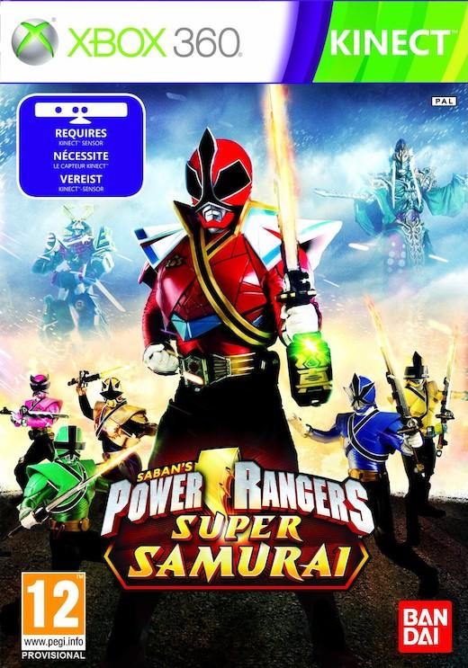 boxshot uk large  Power Rangers: Super Samurai [X360]
