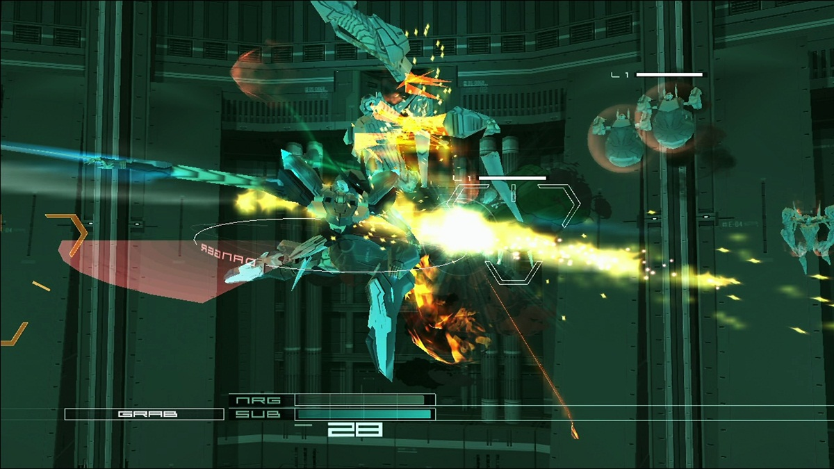 screen1 large Zone of the Enders: HD Collection [X360]