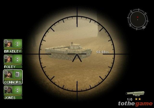 Screenshot of Conflict: Desert Storm (GAMECUBE)