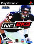 UK Boxshot of NFL 2K3 (PS2)