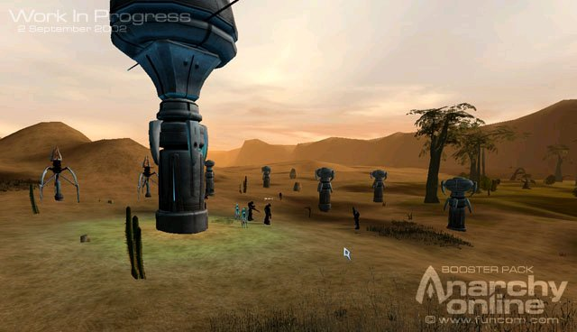 Screenshot of Anarchy Online: The Notum Wars (PC)