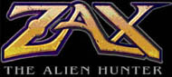 Logo of Zax: The Alien Hunter (PC)