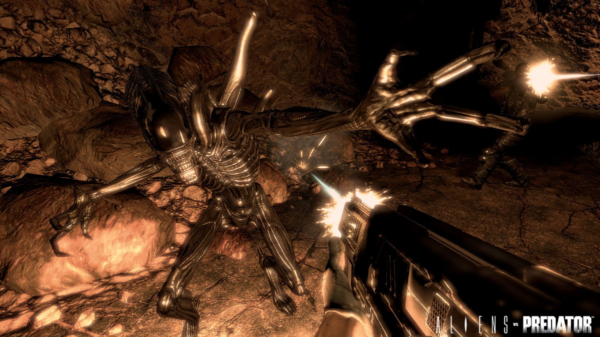screen3 large Alien Vs Predator Gold Edition [PC]