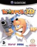 UK Boxshot of Worms 3D (GAMECUBE)