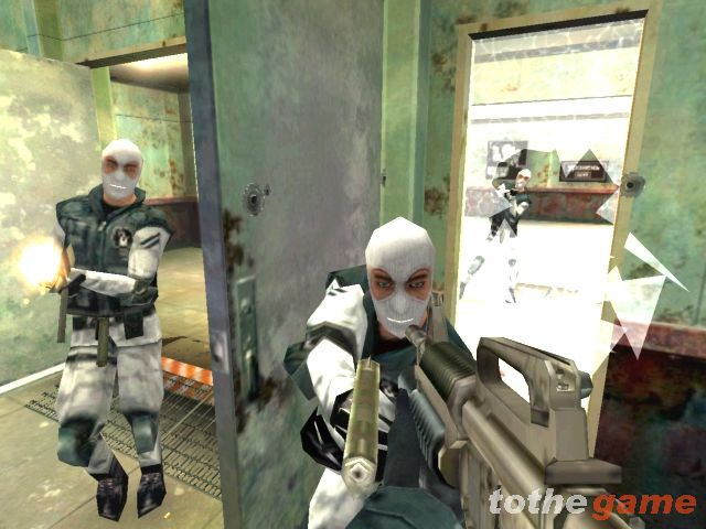 Screenshot of Soldier of Fortune II: Double Helix (XBOX)
