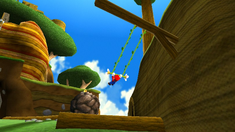 Screenshot of Super Mario Galaxy (NINTENDO Wii)