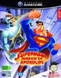UK Boxshot of Superman: Shadow of Apokolips (GAMECUBE)