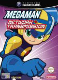 UK Boxshot of Mega Man Network Transmission (GAMECUBE)