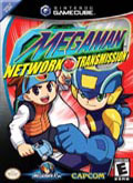 US Boxshot of Mega Man Network Transmission (GAMECUBE)