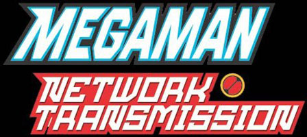 Logo of Mega Man Network Transmission (GAMECUBE)