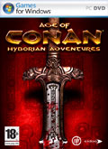 UK Boxshot of Age of Conan: Hyborian Adventures (PC)