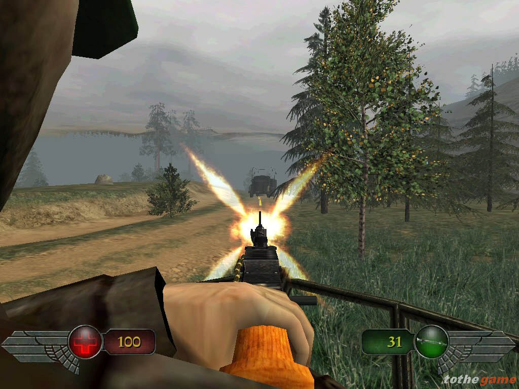 Screenshot of Mortyr 2 (PC)
