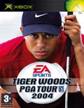 UK Boxshot of Tiger Woods PGA Tour 2004 (XBOX)