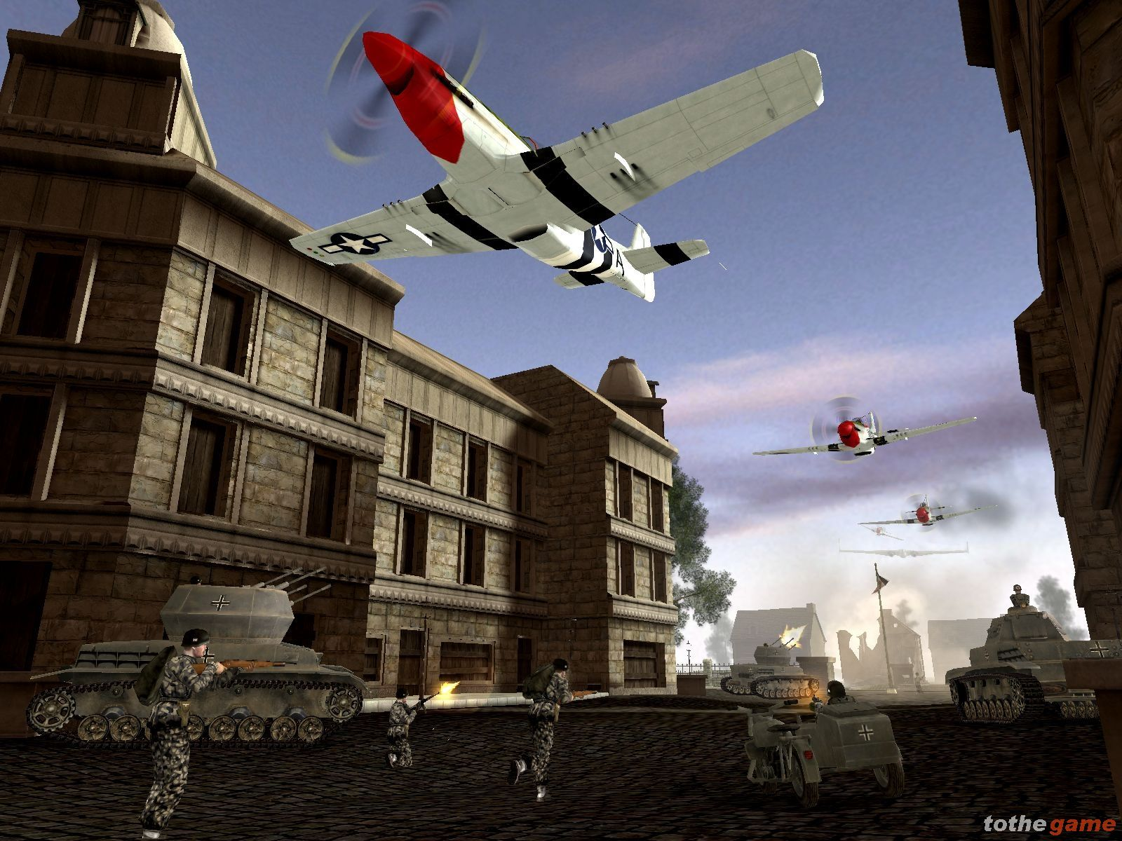 Screenshot of Battlefield 1942: Secret Weapons of WWII (PC)