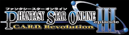 Logo of Phantasy Star Online III Card Revolution (GAMECUBE)