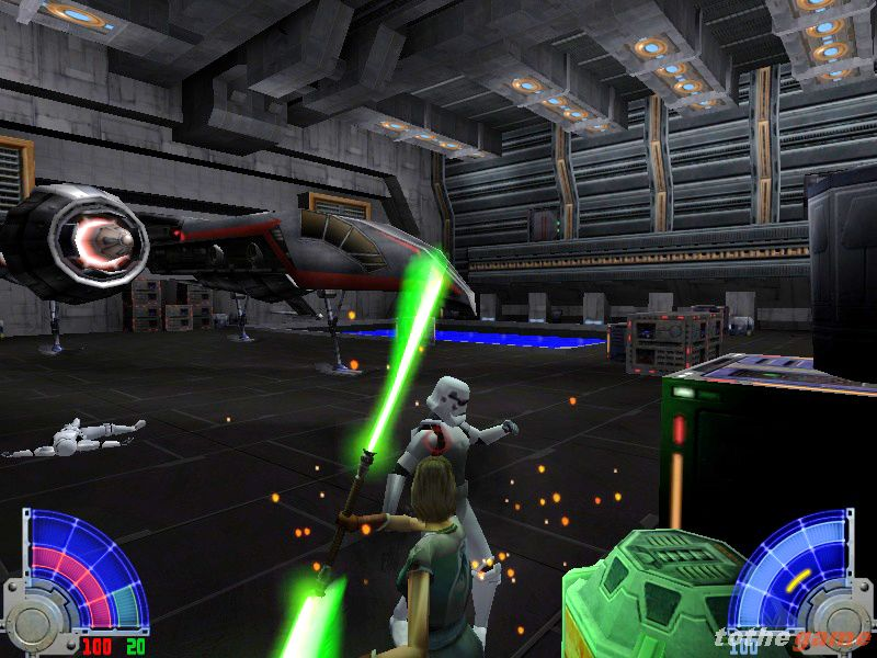 screen4 large Star Wars Jedi Knight: Jedi Academy [PC]