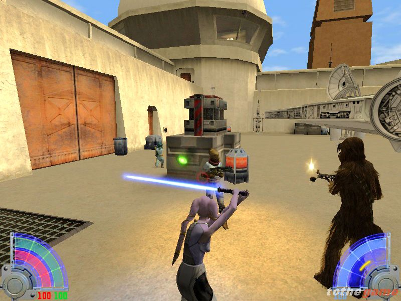 screen5 large Star Wars Jedi Knight: Jedi Academy [PC]