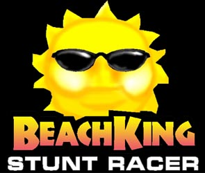 Logo of Beach King Stunt Racer (PC)