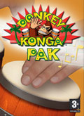 UK Boxshot of Donkey Konga (GAMECUBE)