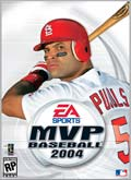 US Boxshot of MVP Baseball 2004 (PC)