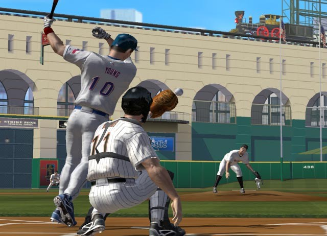 Screenshot of ESPN Major League Baseball (PS2)