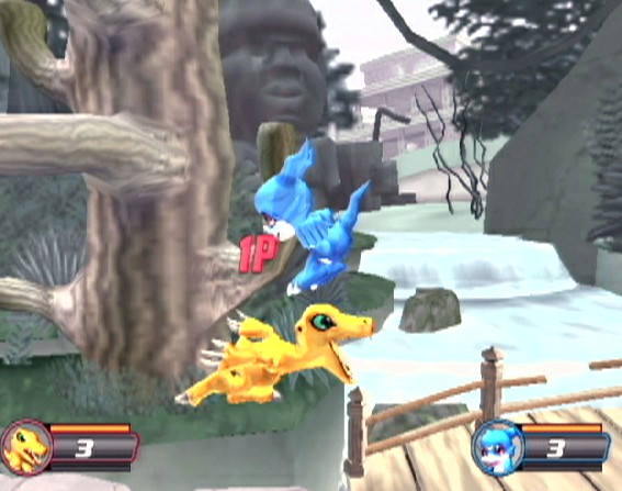 digimon rumble consist under rumble and code three 2 3d