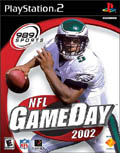 US Boxshot of NFL GameDay 2002 (PS2)
